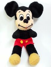 Vintage Mickey Mouse Plush Walt Disney Productions By California Stuffed Toys