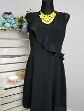 Bravissimo Frill Dress in Black RRP £59.00 (43)