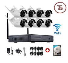 Wireless 8Ch WiFi NVR Wifi 8 Outdoor Camera Kit