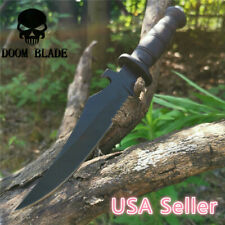 Military Bowie Army Survival Knife Outdoor Tool High Hardness Straight Knives