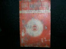 Vintage 1948 Gmc Diesel Operators Manual
