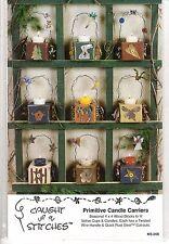 Decorative Painting Pattern Packet PRIMITIVE CANDLE CARRIERS KS-208 Donna Kozera