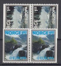 Europa CEPT neuf ** EU NOR 1977 Y&T Norvège 698 à 699a = 4 timbres