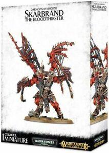 Warhammer 40K Age Of Sigmar: Daemons Of Khorne Skarbrand The Bloodthirster