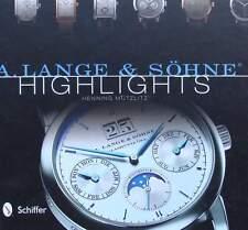 BOEK : A. LANGE & SÖHNE met prijzen horloge,watch,price guide de prix