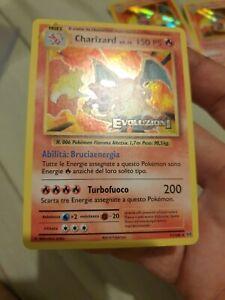 pokemon Charizard evolutions prerelease italian