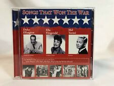 Songs That Won The War 2003 CD Ft. Duke Ellington, Ella Fitzgerald & Mel Torme'