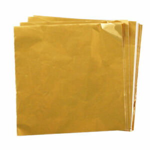 100Pcs Square Candy Package Sweets Chocolate Foil Paper Wrapper for Xmas Wedding