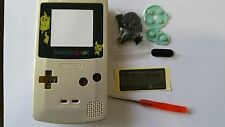 CARCASA COMPLETA+PANTALLA COMPATIBLE GAME BOY COLOR PIKACHU NEW/NUEVO