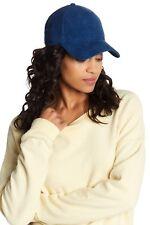 f018cbf2d1c Rag   Bone Marilyn Women s Baseball Cap Hat 100% Cotton NAVY CORD