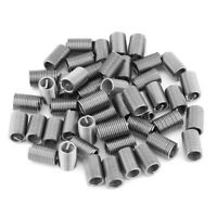 50pc Helicoil Stainless Steel Thread Insert Kit M6 Coiled Wire Helical Screw