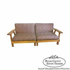 Brandt Ranch Oak Sectional Sofa (B)