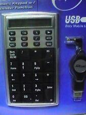 ProDigital Portatile USB tastierino numerico per laptop notebook per MAC e Windo
