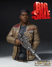 Numbered Certified Limited Gentle Giant Star Wars Force Awakens Finn Mini Bust