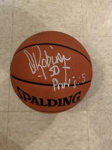 SIGNED DAVID ROBINSON AUTHENTIC NBA BASKETBALL HOF SAN ANTONIO SPURS