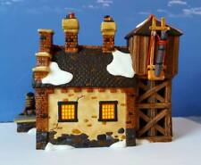 DEPT 56 Dickens Village LOCOMOTIVE SHED & WATER TOWER!   Train, Station