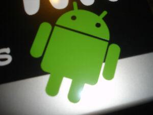 Android vinyl sticker - Dev Development Phone Decal Sprite Computer Game