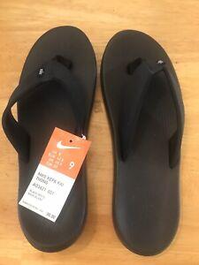 mens nike flip flops size 9