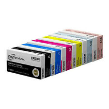 Epson Discproducer PP-100/PP-50 6-Color Ink Cartridge Multipak Set (C13S02A9991)
