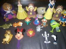 Lot Of 19 Vintage Disney Rare Action Figures 1990s+more! Beauty&beast,lionking