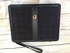 Vintage Pierre Cardin Backgammon Travel Game In Blue Travel Case - Complete