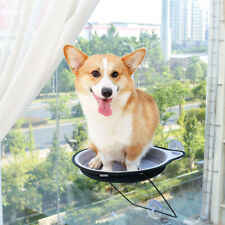 Window Mounted Cat Suction Cup Hanging Pet Sunshine Hammock Perch Bed BM