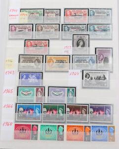 Falklandinseln 1963 bis 2008 wunderschöne postfrische Neuheiten-Sammlung