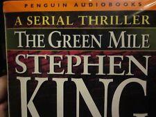 THE GREEN MILE / STEVEN KING penguin audiobooks 12 cassettes NM sealed ...rare