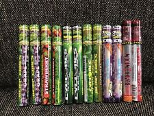 12x Cyclones Pre Rolled Natural Cones 6 Flavor Variety Sampler - 22 Total Papers