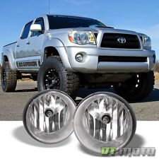 For 2005-2011 Toyota Tacoma 07-13 Tundar Bumper Fog Lights Lamps w/Switch Chrome