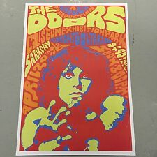 THE DOORS - CONCERT POSTER TORONTO COLISEUM 20TH APRIL 1968   (A3 SIZE)