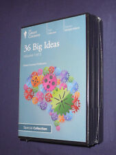 Teaching Co Great Courses  CDs            36  BIG IDEAS          new & sealed