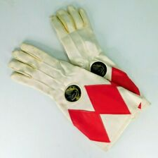 Vintage 1994 Mighty Morphin Power Rangers Sound Effects Gloves Red Ranger Jason
