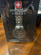 Swiss Military Hanowa  Tachyometer Steel Band watch (Authentic Swiss Made)