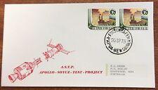 1975 png Apollo Soyuz rocket cover -E.J hehir addressed