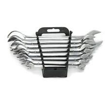 Maulschlüssel Set 8-teilig aus Chrom-Vanadium-Stahl DIN 3110 Größen 6 bis 22 mm