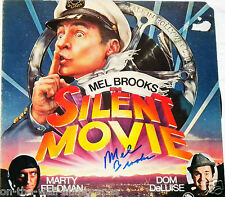 MEL BROOKS HAND SIGNED AUTOGRAPHED SILENT MOVIE ALBUM! WITH PROOF + C.O.A.!