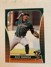 Alex Manasa 2019 Greensboro Grasshoppers Team Card