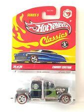 Hot Wheels Classics Series 5 Convoy Custom Walmart Exclusive Dark Green 2009