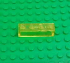 Lego Yellow Transparent 1x4x1 Stud Window Brick Classic Space Block x 1 piece