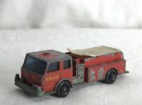 Vintage Matchbox Lesney Toy Car No. 29 Fire Pumper Truck