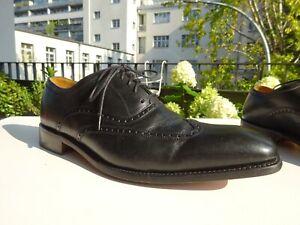 GORDON & BROS 2321 Herren Budapester Goodyear Welted Schuhe Leder Gr.43 f.Neuw