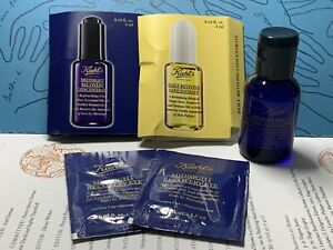 KIEHLS Midnight Recovery Range Skincare Bundle Cleanisng Oil Concentrate & Eye