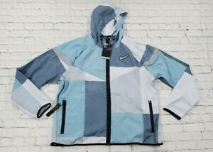 Nike Windrunner Wild Run Running Jacket Blue CK0683-418 MENS SIZE XL