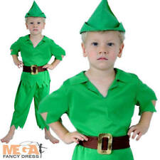 Toddler Peter Pan Boys Ages 2-3 Years Fancy Dress School Book Day Child Costume