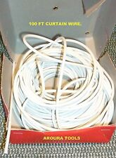 CURTAIN WIRE 30 meter BULK ROLL - NEW