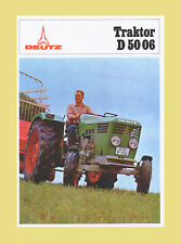 DEUTZ D 50 06 Alllrad 45 PS Schlepper Traktor