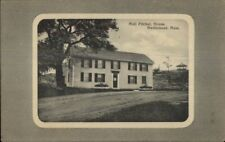 Marblehead MA Moll Pitcher House Gray Border Series c1910 Postcard