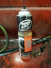 ZEP BRAKE CLEANER, NON-FLAMMABLE  1can = 20oz Free Shipping New