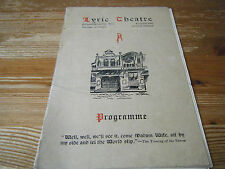 Pre 1940 Collectable Theatre Programmes (1970s)